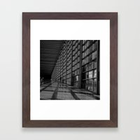 Waiting at the Airport II Framed Art Print