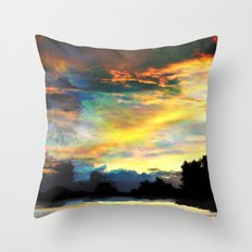 It is Only the End Throw Pillow