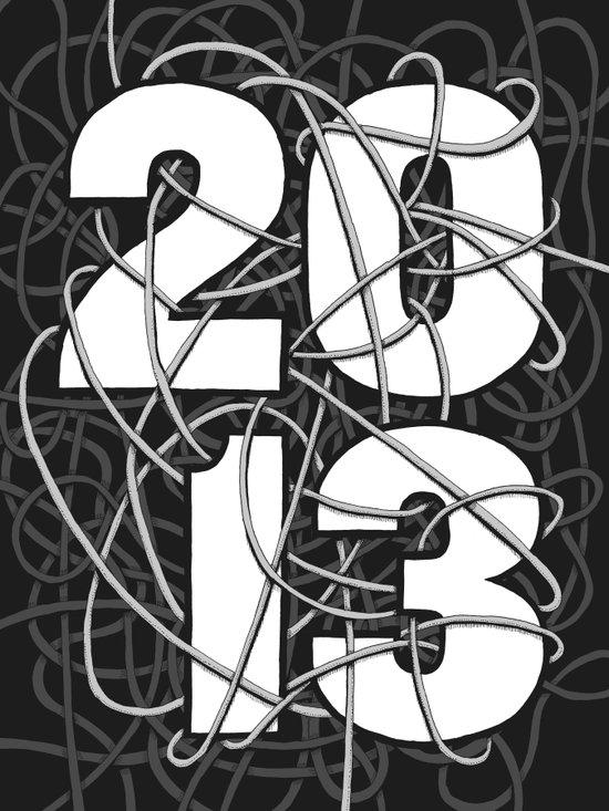2013 Commemorative Poster Art Print