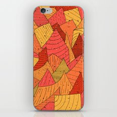 Pumpkin Slices iPhone & iPod Skin