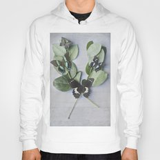 Butterfly Botanical  Hoody