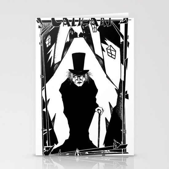 Dr. Caligari Stationery Card