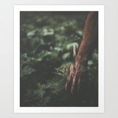 Nature (Pixel Sorted) Art Print