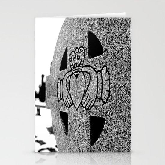 Winter Claddagh Stationery Card