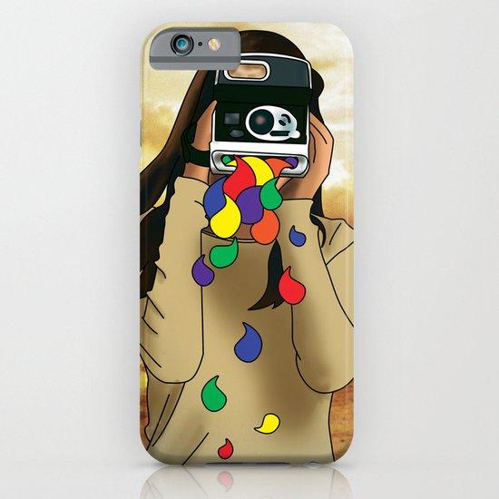 Polaroid Girl iPhone & iPod Case