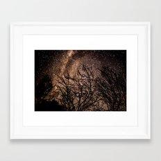 Stars in the Night Sky Framed Art Print