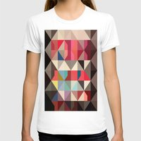 color story - frame of mind Womens Fitted Tee White SMALL