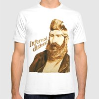 Infernal Dishes Mens Fitted Tee White SMALL