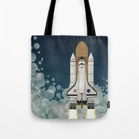 Space Shuttle Tote Bag