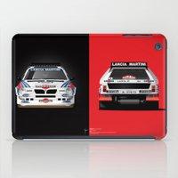 Group B Edition, N.º2, Lancia Delta S4 iPad Case
