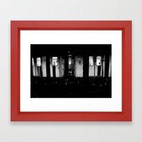 Ridin' Framed Art Print