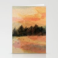 Horizonte Distante Stationery Cards