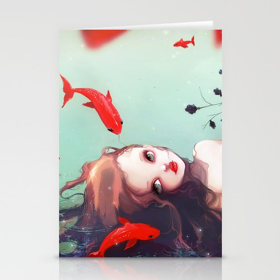 L'attente Stationery Card