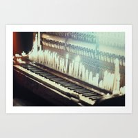 The Sounds Of Ghosts Art Print