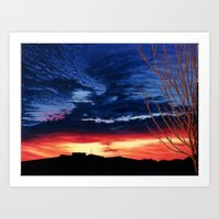 Mom's Sunrise Art Print