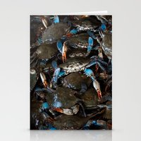 CRABS ON CRABS Stationery Cards
