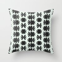 Light Bugs Throw Pillow