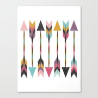 Bohemian Arrows Canvas Print
