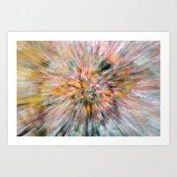 Zoomed Rowan Art Print