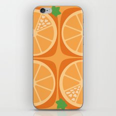 Orange Heart iPhone & iPod Skin