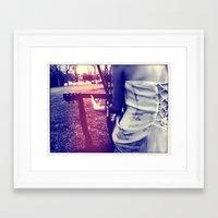 Samantha Framed Art Print