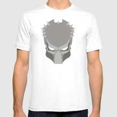 PREDATOR White Mens Fitted Tee SMALL