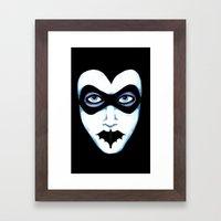Silence Of The Quinn Framed Art Print