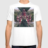 Goddess of the Mountains Mens Fitted Tee White SMALL