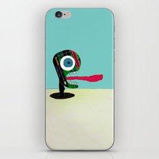 Screaming Tape Head iPhone & iPod Skin