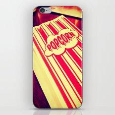 Popcorn, Get Your Popcorn Here!!! iPhone & iPod Skin