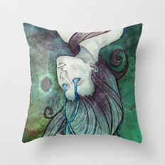 Ghost of the Sargasso Throw Pillow