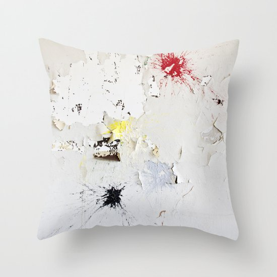 Splat Throw Pillow
