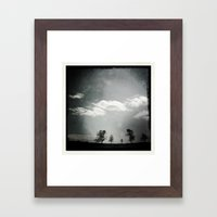 Mother's Day Skyline Framed Art Print