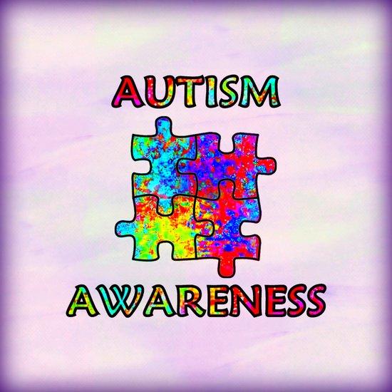 Autism Awareness Canvas Print