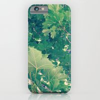 iPhone & iPod Case featuring Leaves by Liz Shattler
