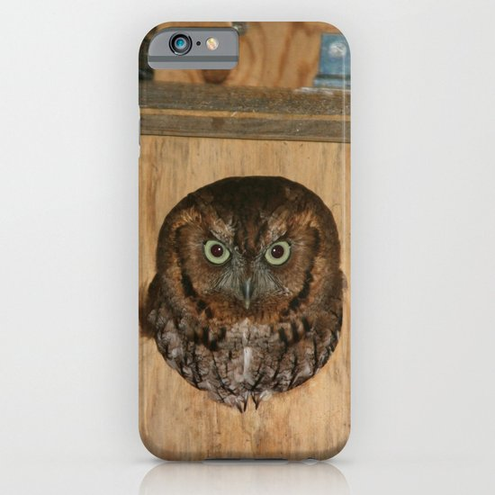 Hibou means owl iPhone & iPod Case