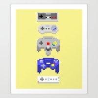 Nintendo Art Print