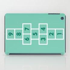 Hopscotch Mint iPad Case