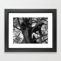 Berry Beary Framed Art Print
