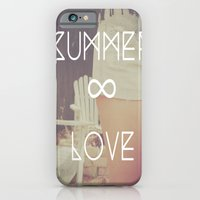 iPhone & iPod Case featuring summer love by manduhpaige
