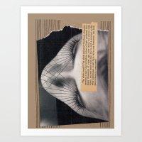Universe Collage Art Print