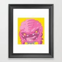 Krang! Framed Art Print
