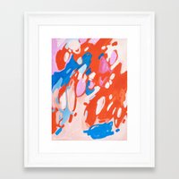 Smitten Framed Art Print