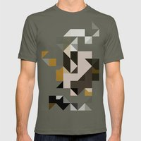 color story - primordial  Mens Fitted Tee Lieutenant SMALL
