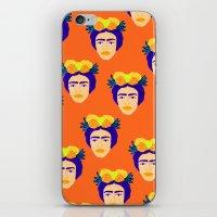 Colorful Frida iPhone & iPod Skin