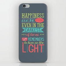 Happiness iPhone & iPod Skin