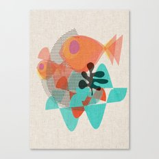 Piranas Canvas Print