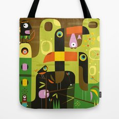 The toucan hunter Tote Bag