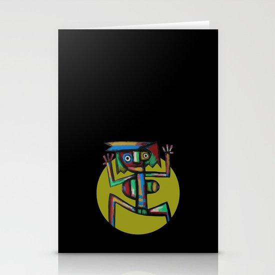 Dancer Stationery Card