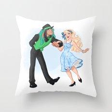 Dapper Day Throw Pillow